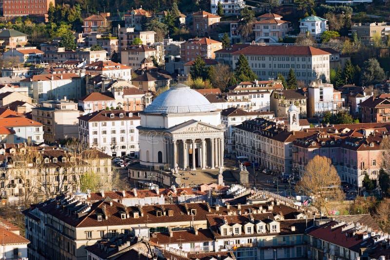 Chiesa della Gran Madre Di Dio, Torino Włochy - obraz royalty free