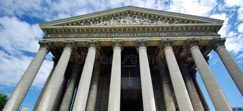 Chiesa della Madeleine fotografia stock libera da diritti