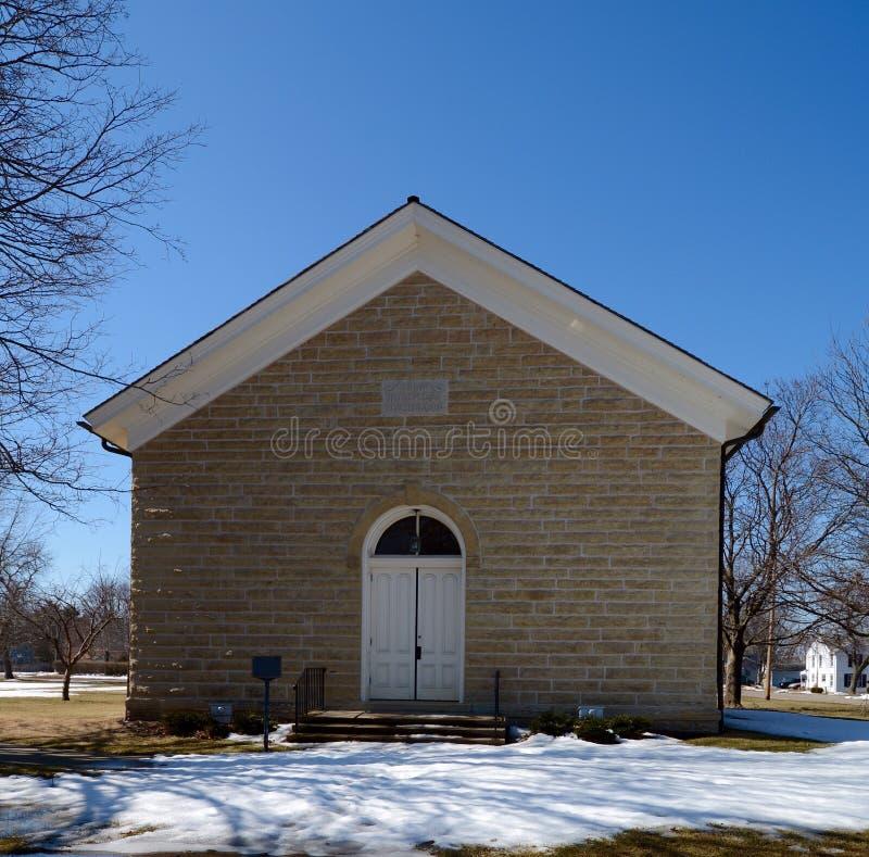 Chiesa della pietra del Plano fotografia stock