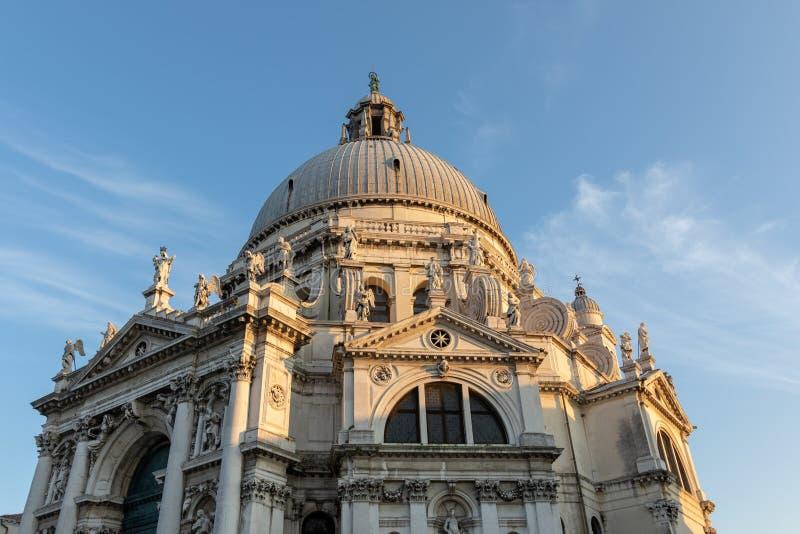 Chiesa Della salut, Wenecja Włochy fotografia royalty free
