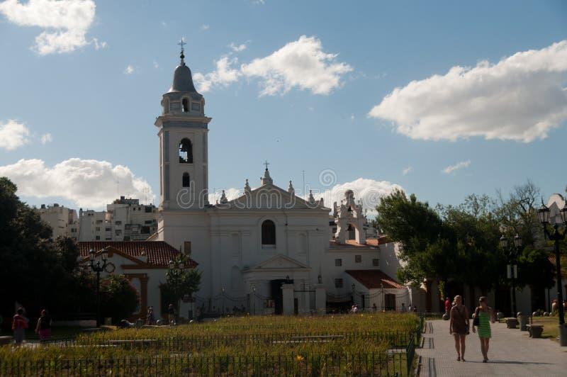 Chiesa della signora di Pilar fotografia stock libera da diritti