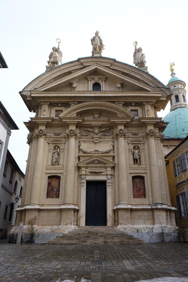 Chiesa della st Catherine e mausoleo di Ferdinand II, Graz immagine stock libera da diritti