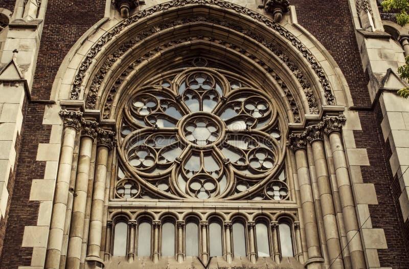 Chiesa della st Elisabeth, Lviv immagini stock