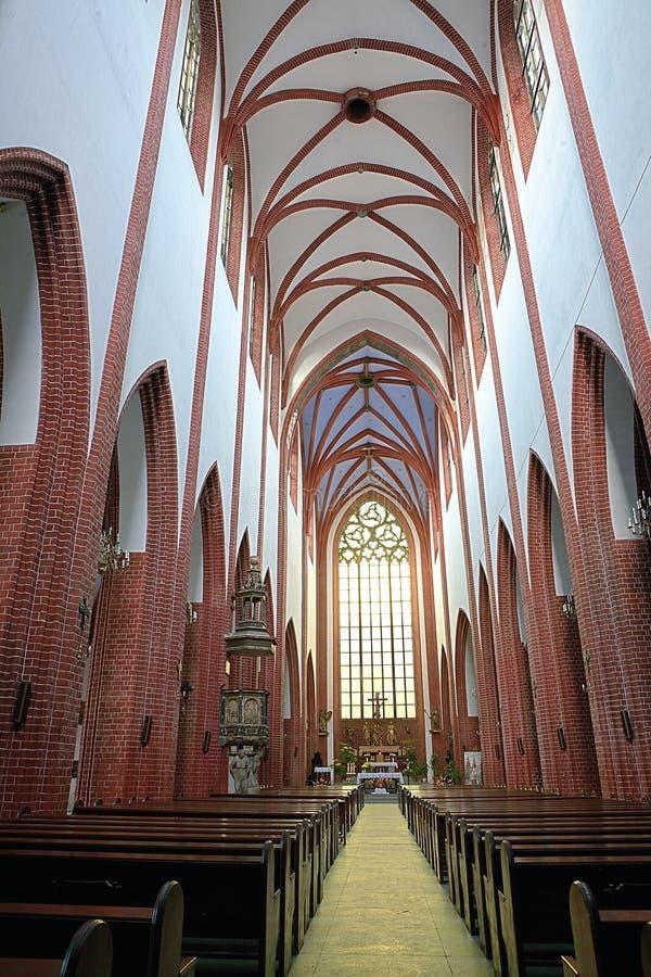 Chiesa della st Elizabeth fotografie stock