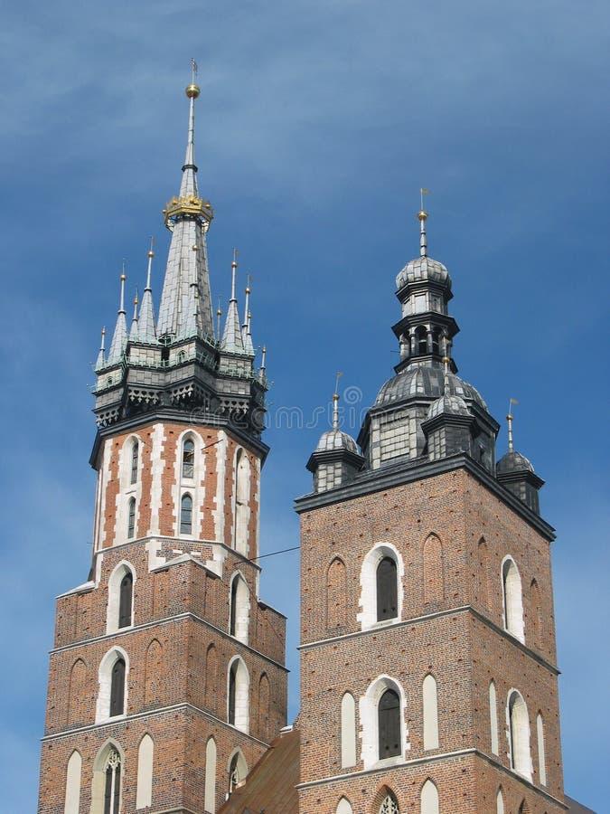 Download Chiesa Della St Mary, Cracovia, Polonia Fotografia Stock - Immagine di storico, poland: 125766