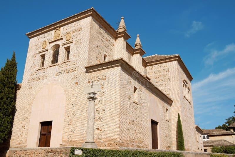 Chiesa della st Mary di Alhambra fotografie stock libere da diritti