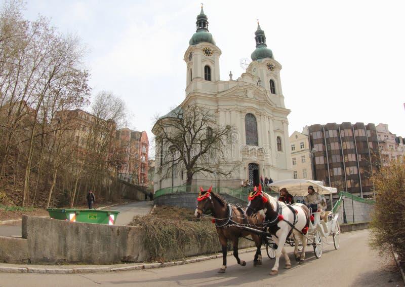 Chiesa della st Mary Magdalene immagini stock libere da diritti