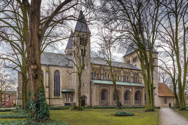 Chiesa della st Mauritz, Munster, Germania immagine stock libera da diritti
