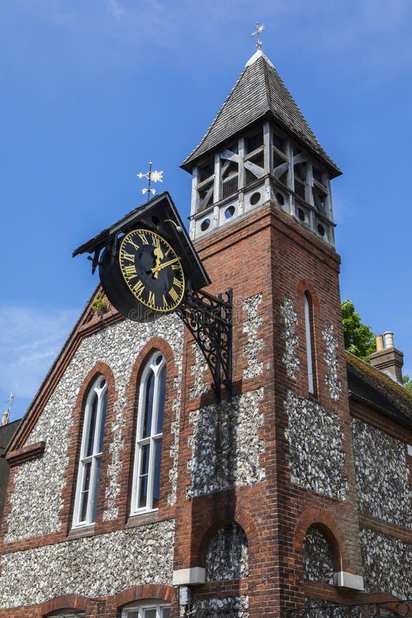Chiesa della st Michael-in-Lewes fotografia stock libera da diritti