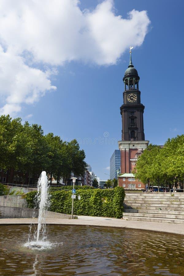 Chiesa della st Michaelis di Amburgo, editoriale fotografie stock libere da diritti