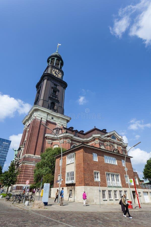 Chiesa della st Michaelis di Amburgo, editoriale immagini stock libere da diritti