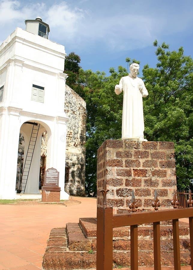 Chiesa della st Paul, Malacca, Malesia fotografie stock