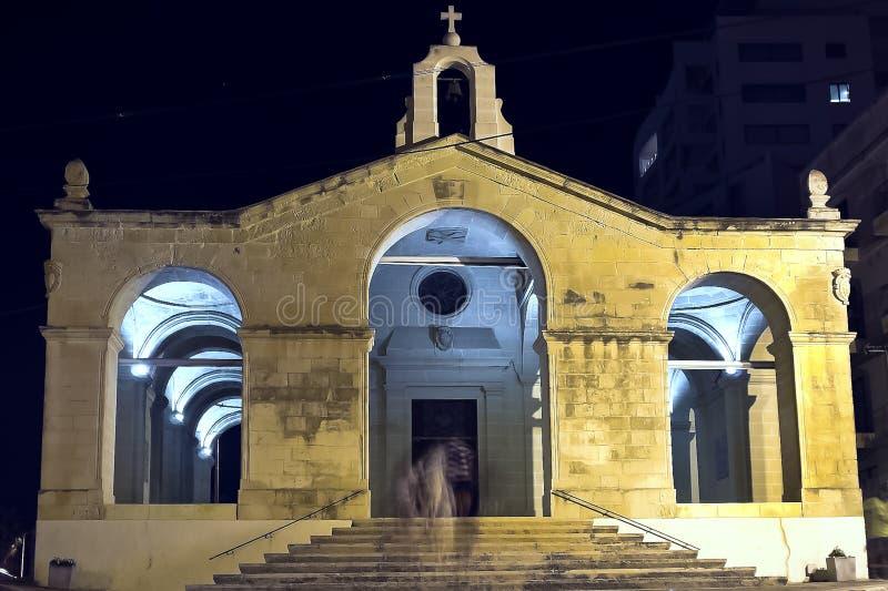 Chiesa della st Pauls Bonfire fotografia stock libera da diritti