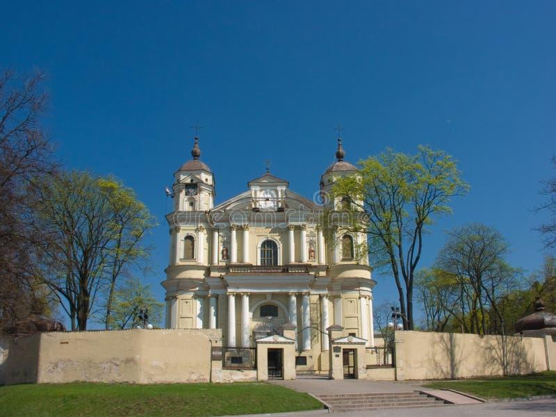 Chiesa della st Peter e della st Paul fotografia stock libera da diritti