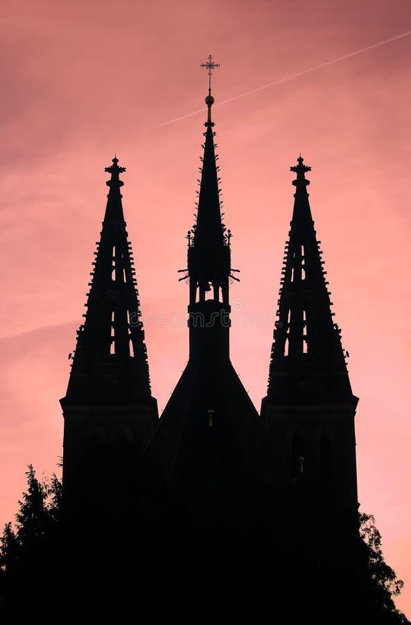 Chiesa della st Peter e Paul fotografie stock