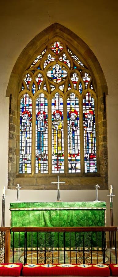 Chiesa della st Peter, Wearmouth fotografia stock