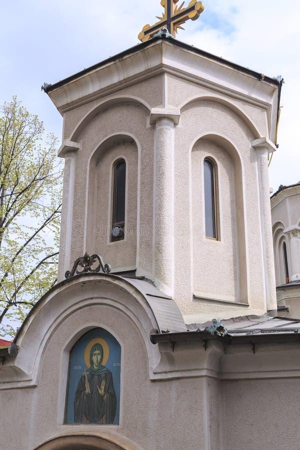 Chiesa della st Petka, Skopje immagine stock