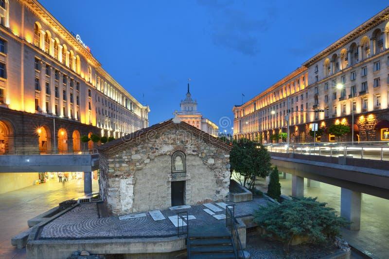 Chiesa della st Petka a Sofia fotografia stock
