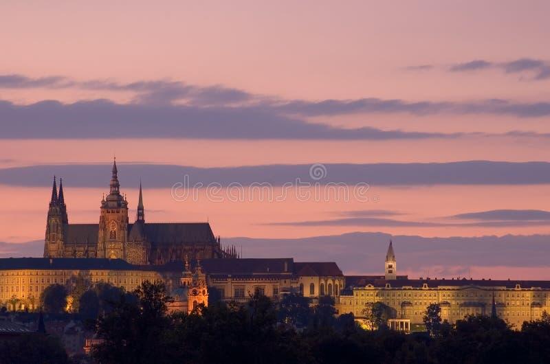 Chiesa della st Vit a Praga fotografie stock libere da diritti
