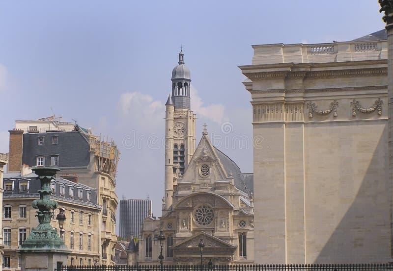Chiesa Della Stanza Etienne Parigi Fotografia Stock Libera da Diritti