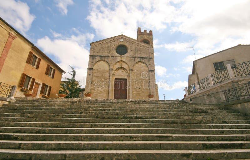 Chiesa della Toscana fotografia stock libera da diritti