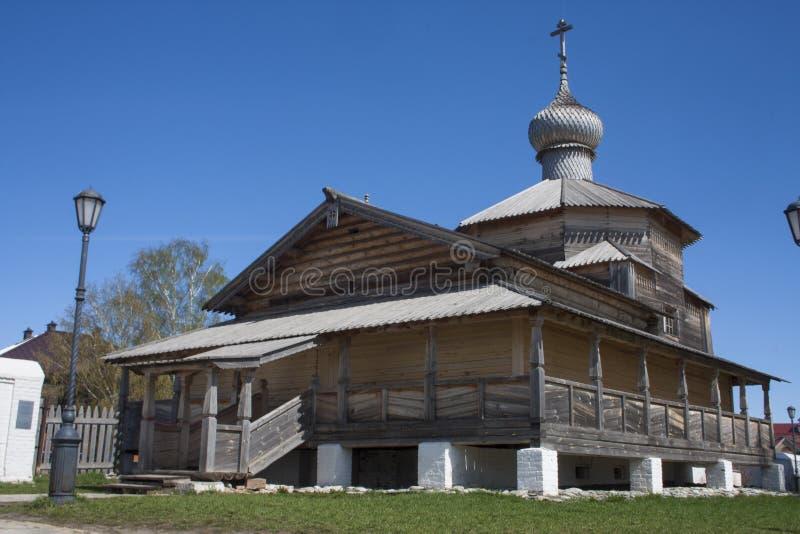 Chiesa della trinità santa in Sviyazhsk fotografie stock
