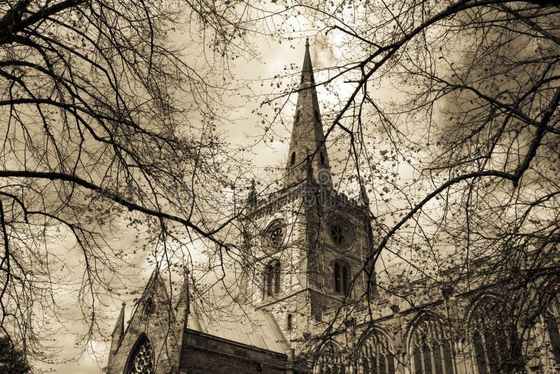 Chiesa dello Shakespeare fotografia stock libera da diritti