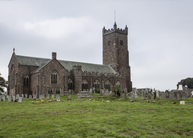 Chiesa Devon di Mortenhampstead fotografia stock libera da diritti