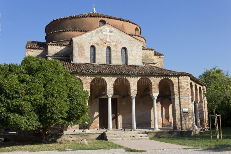Chiesa di Санта Fosca стоковые изображения