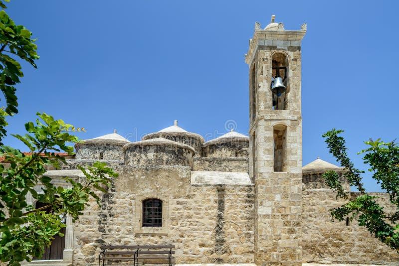 Chiesa di Agia Paraskevi in Pafo cyprus fotografia stock