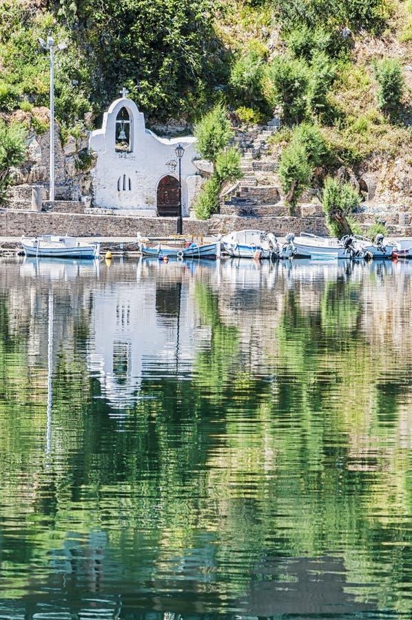Chiesa di Agios Nikolaos immagini stock