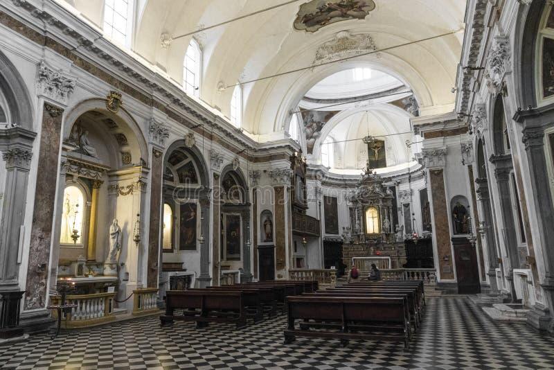 Chiesa di Bergamo, Italia fotografie stock libere da diritti