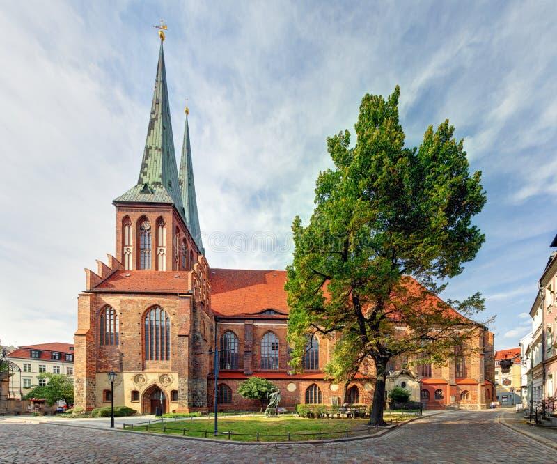 Chiesa di Berlino, San Nicola, Germania - Nikolaikirche immagine stock