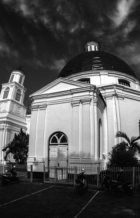 Chiesa di Blenduk immagine stock