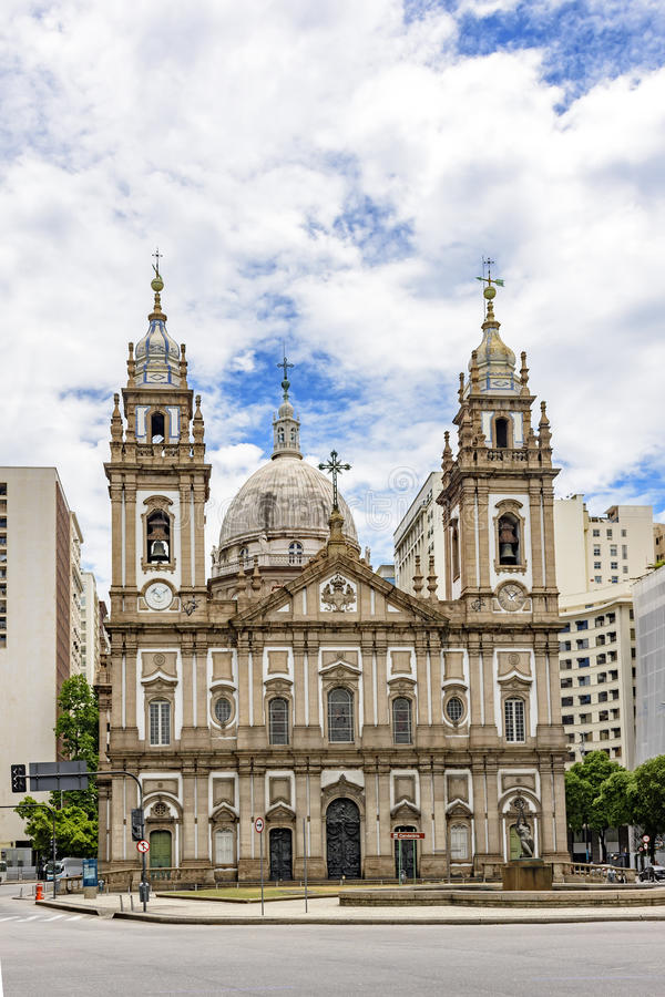Chiesa di Candelaria fotografie stock libere da diritti