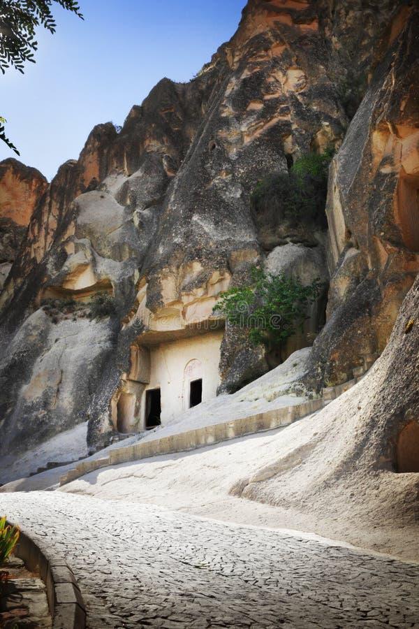 Chiesa di Cappadocia fotografia stock libera da diritti