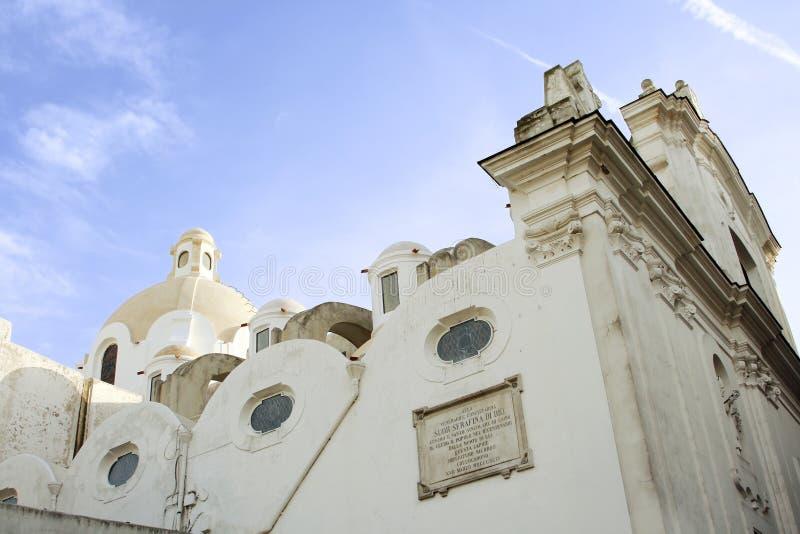 Chiesa di Capri fotografia stock