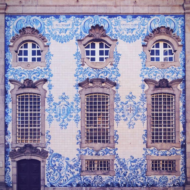 Chiesa di Carmo a Oporto fotografie stock libere da diritti