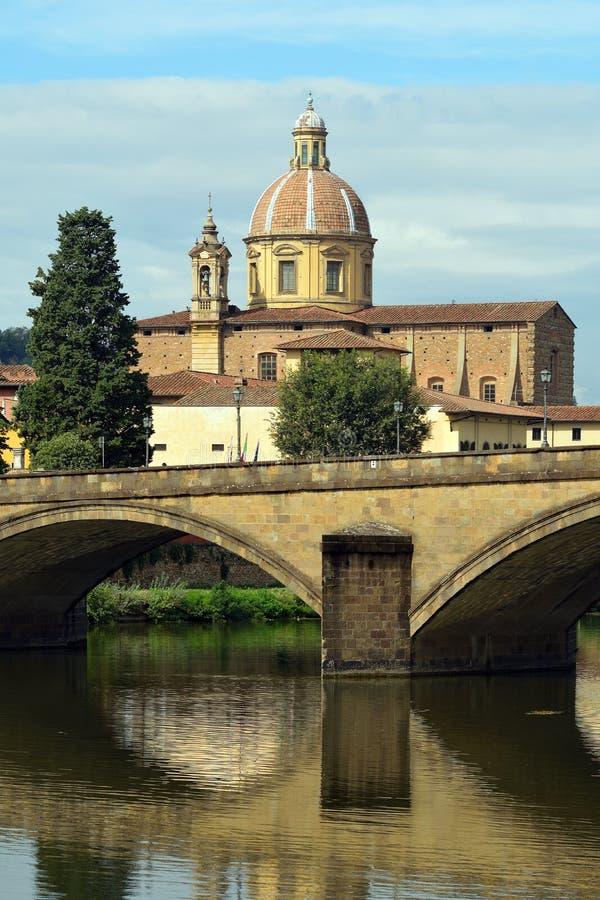 Chiesa di Cestello di Firenze - l'Italia fotografia stock