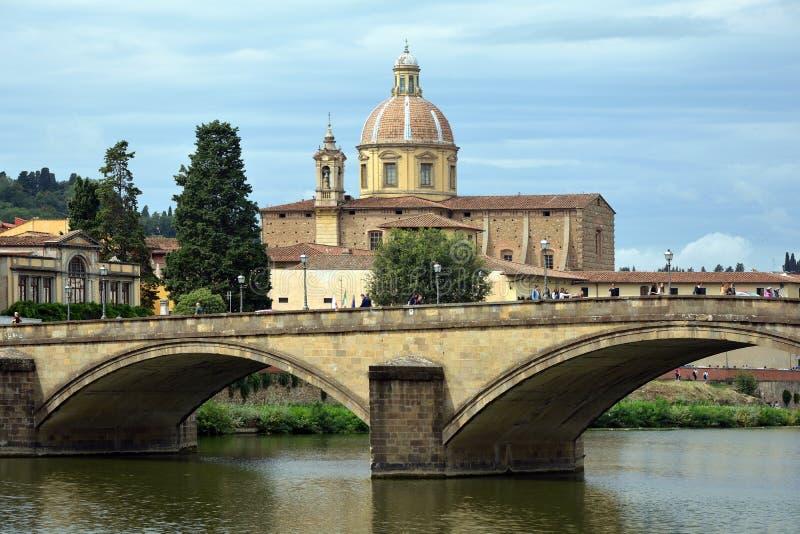 Chiesa di Cestello di Firenze - l'Italia fotografia stock libera da diritti