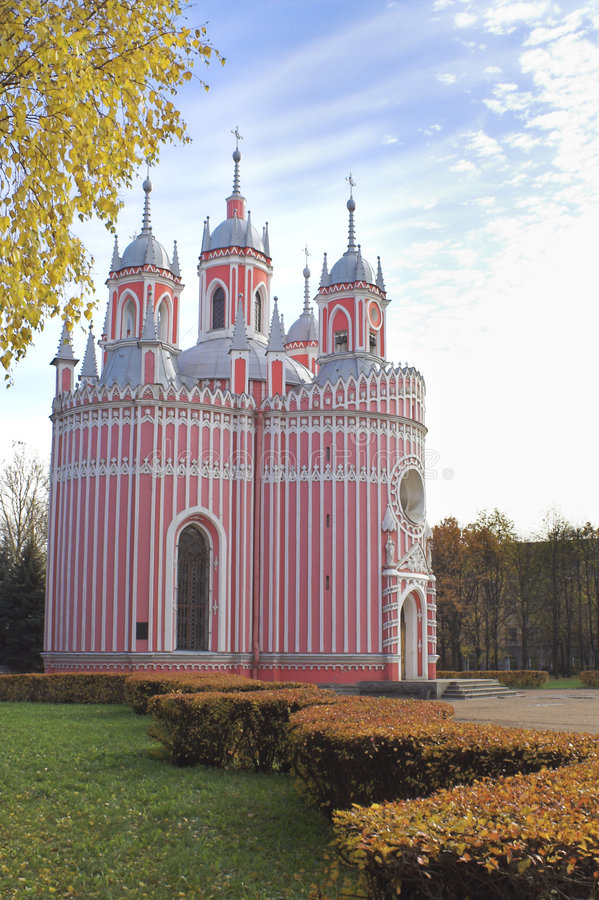 Chiesa di Chesmenn fotografie stock libere da diritti