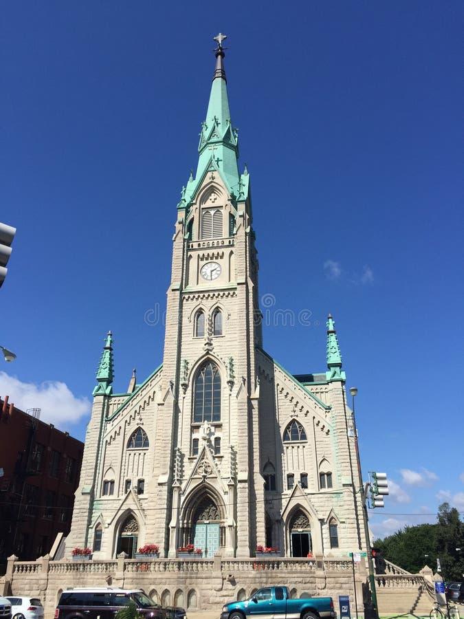 Chiesa di Chicago immagini stock libere da diritti