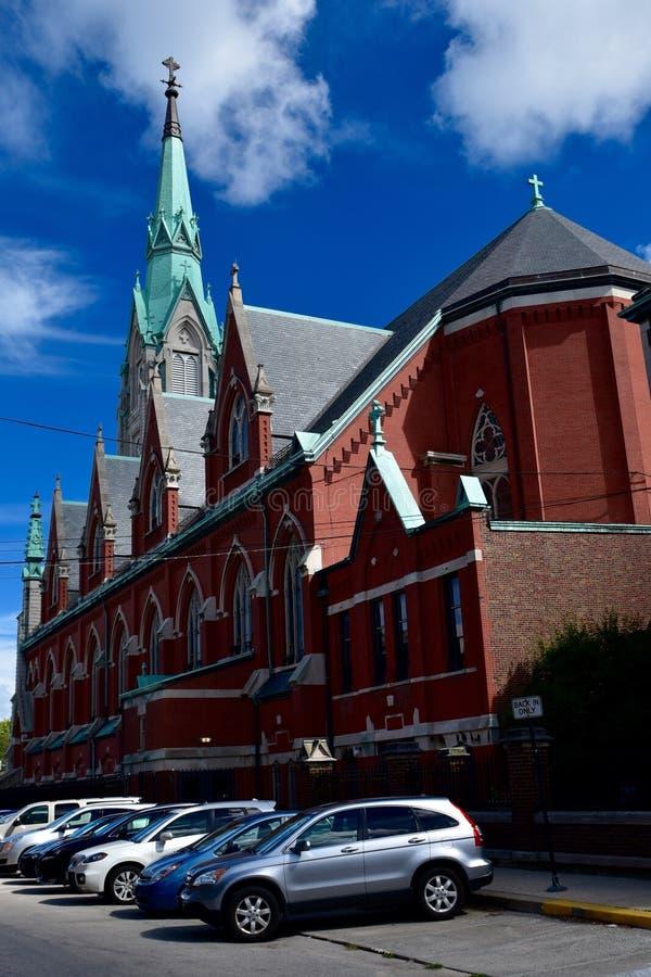 Chiesa di Chicago immagine stock