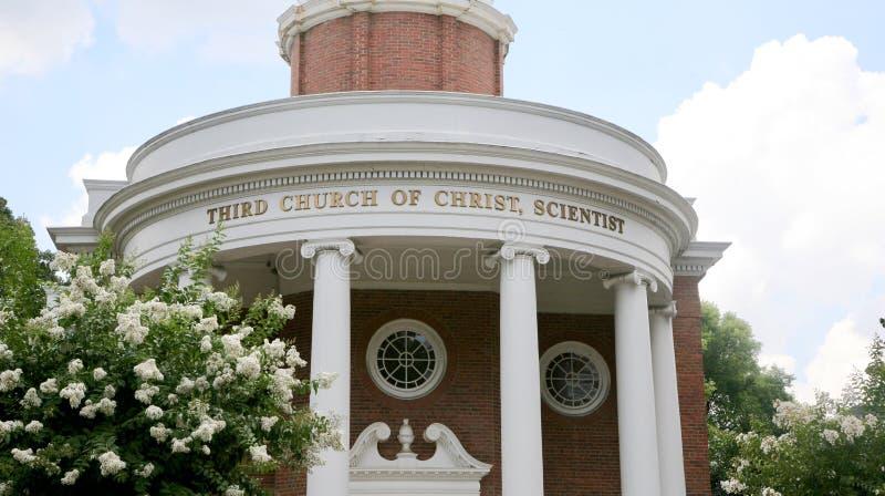 Chiesa di Christ, scienziato immagini stock