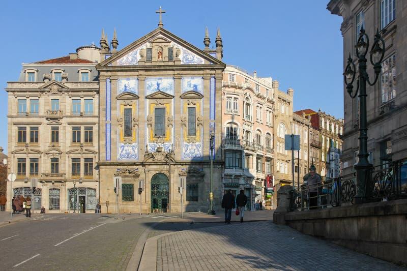 Chiesa di Congregados. Oporto. Il Portogallo immagine stock libera da diritti