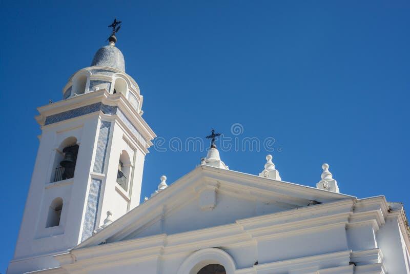 Chiesa di Del Pilar a Buenos Aires, Argentina fotografia stock libera da diritti