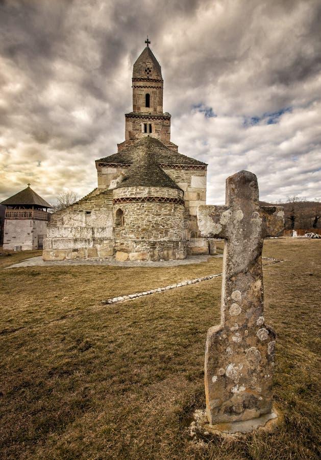Chiesa di Densus immagini stock