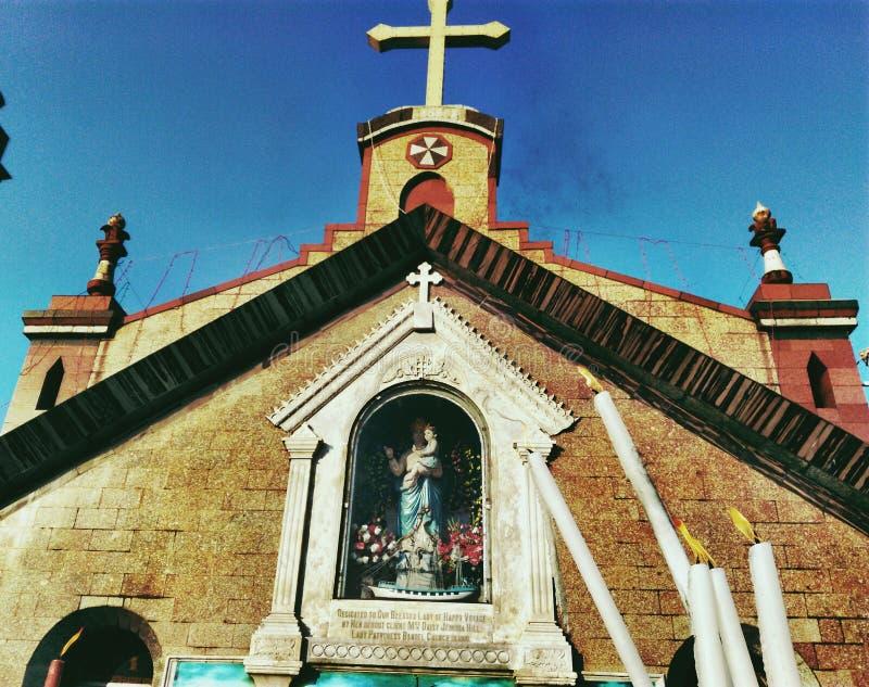 Chiesa di domenica fotografie stock