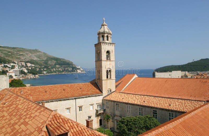 Chiesa di Dubrovnik Dominkan fotografia stock libera da diritti
