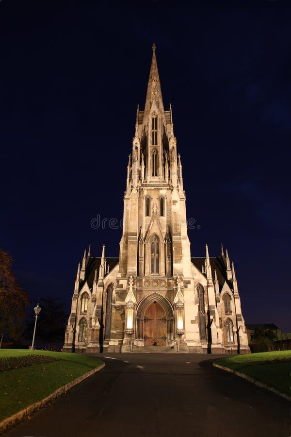 Chiesa di Dunedin fotografia stock libera da diritti